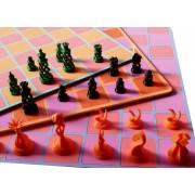 Tablă de șah design color