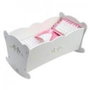 KidKraft Personalized Tiffany Bow Lil' Doll Cradle