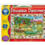 Puzzle in limba engleza Lumea dinozaurilor 150 piese DINOSAUR DISCOVERY