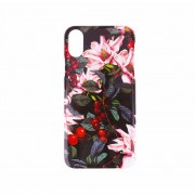 BasicsMobile Flower Bomb iPhone X/XS Plus Cover iPhone X/XS Skal