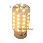 Lampadina a Led 56 SMD5630 Bianco Caldo 3200K E27 Alta Luminosità 18 Watt