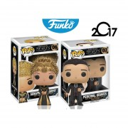 Set 2 fantastic beasts Funko pop percival graves seraphina picquery