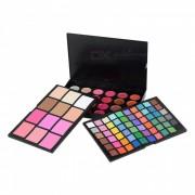 Sersuel 96 Color 2-Open 3-capa Eye Shadow Palette Makeup Cosmetic - Multicolor