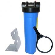 AQUAPRO Porte Filtre Big Blue 20 pouces - Entrée/Sortie 1 Pouce