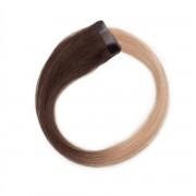 Rapunzel® Extensions Naturali Quick & Easy Original Liscio O2.6/8.0 Dark Ash Blond Ombre 50 cm