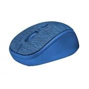 Trust Yvi Fabric blue Оптична Безжична Мишка