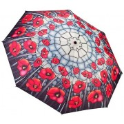 Blooming Brollies Umbrela doamnelor Poppies stil pliabil