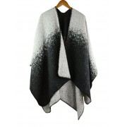 rosegal Vintage Color Changed Long Shawl Scarf