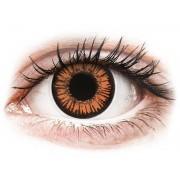 Orange Twilight contact lenses - ColourVue Crazy