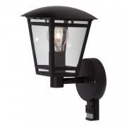 Home24 Buitenwandlamp Riley Lantern II, home24 - Zwart