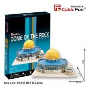 CubicFun 25 Piece 3D Puzzle: Dome of the Rock