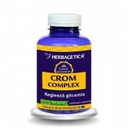 Herbagetica Crom Complex, 120 capsule