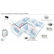 Sistem kit ventilatie centralizata Aerauliqa QR280 cu toate componente