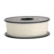 Filament Flexibil TPU pentru Imprimanta 3D 1.75 mm 0.8 kg - Alb