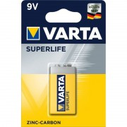 Baterie zinc-carbon Varta SuperLife, 9V