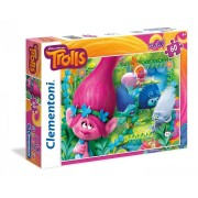 Trolls puzzle 60 piese Maxi Clementoni