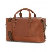 Morris Christopher Leather Weekendbag Mid Brown