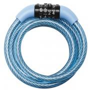 Spirálový kombinační zámek na kolo Master Lock 8143EURDPROCOL - 1,2m - modrý