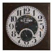 Oak Furnitureland Clocks - Morillo Wall Clock - Oak Furnitureland