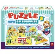 Puzzle cu surprize Ferma, 36 piese