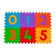 Puzzle numere copii - 6 buc Babyono 275