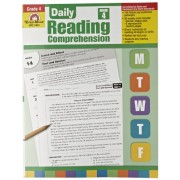 Evan Moor Book Daily Reading Comprehension - Grade 4