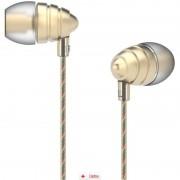 Casti Audio In Ear UIISII US90 Gold + Stativ Universal Telefon