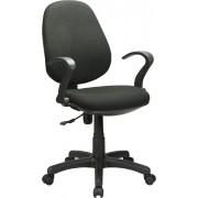 nbrand Office Nera Sedia Ufficio Poltrona Operativa Girevole Con Braccioli E Ruote Elevazione A Gas Colore Nero - Office