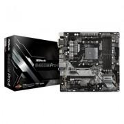 ASRock P?yta g?ówna B450M PRO4 AM4 4DDR4 HDMI/VGA/DVI M.2 micro ATX