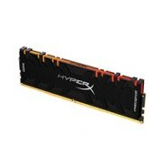 MEMORIA KINGSTON UDIMM DDR4 8GB 3600MHZ HYPERX PREDATOR RGB BLACK CL17 288PIN 1.35V C/DISIPADOR DE CALOR P/PC/GAMER/ALTO RENDIMIENTO