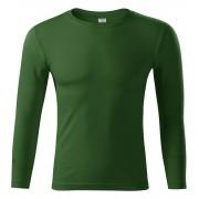 Piccolio Progress LS Unisex tričko P7506 lahvově zelená M