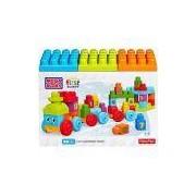 Mega Bloks First Builders Trem de Aprendizado - Mattel