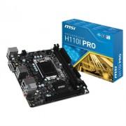 MSI Placa Base H110I Pro miniITX LGA1151