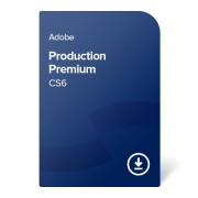Adobe Production Premium CS6 ENG ESD (ADB-PPM-CS6-EN) elektronikus tanúsítvány