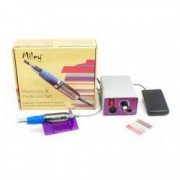 Set Freza electrica profesionala pentru manichiura / Pila unghii ML803 + CADOU ochelari condus