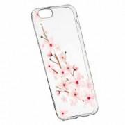 Husa Silicon Transparent Slim Spring Flower Huawei Honor 4C G Play Mini