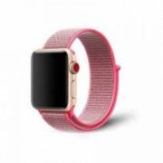 Curea pentru Apple Watch Bibilel compatibil cu dimensiunea 42mm Sport Band Textil Pink Sand BBL488