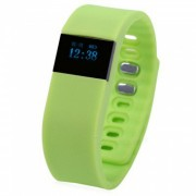 """KICCY TW64 0.49"""" OLED Bluetooth Smart Pulsera Fitness Tracker - Verde"""