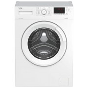 Masina de spalat rufe Beko WUE7512XWW, Capacitate 7 kg, 15 programe, Clasa energetica A+++, 1000rpm, Display digital, SteamCure, Child lock, Alb