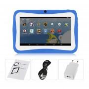 """Los Niños De 7"""" Tablet PC 1,5 GHZ Quad Core 8GB WIFI Android Tablet Azul Pantalla De 1024x600"""