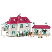 Schleich Stor hästgård med hus och ladu - Schleich bondgård 42416