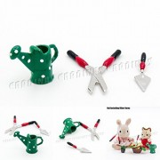 Odoria Odoria 1:12 Miniature 3PCS Gardening Tools Set for Christmas Dollhouse Fairy Garden Accessories