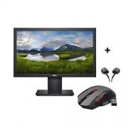 """MONITOR DELL E1920H 19"""" 1366 X 768 Pixeles, 5 Ms, Negro + Regalo (Bundle)"""