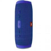 Водоустойчива безжична портативна тонколона JBL Charge 3 Blue