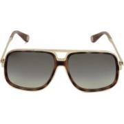 Marc Jacobs Retro Square Sunglasses(Brown)