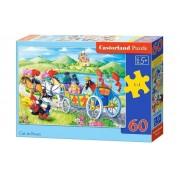 Puzzle Motanul Incaltat, 60 piese