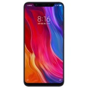 "Telefon Mobil Xiaomi Mi 8, Procesor Octa-Core 2.8GHz/1.8GHz, Super AMOLED capacitive touchscreen 6.21"", 6GB RAM, 128GB Flash, Camera Duala 12+12MP, Wi-Fi, 4G, Dual Sim, Android (Roz) + Cartela SIM Orange PrePay, 6 euro credit, 6 GB internet 4G, 2,000 minu"