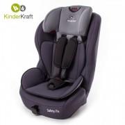 Столче за кола с IsoFix KinderKraft Safety Fix 9-36 кг, сиво