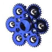 6 Ball High Speed -Stylish New Arrival Metal Spinner- Metallic Blue Colour