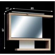 Guido Nilus 01 tükrös, felső szekrény LED világítással